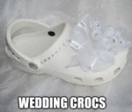 Wedding Crocs...