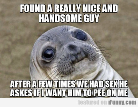Found A Really Nice And Hadsome Guy...