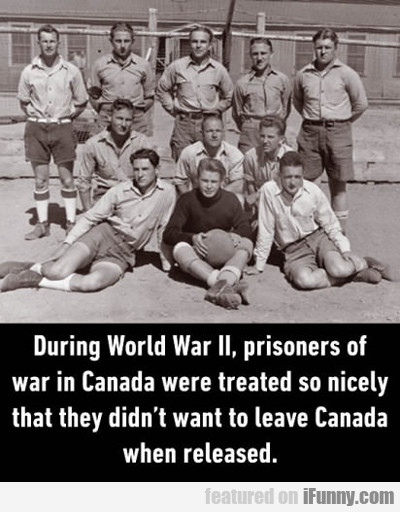 In Canada During Ww2...
