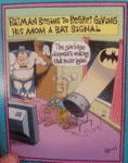 Batman Begins To Regret Giving His Mom A Bat...