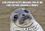 Girlfriend Laughed At Me For Crying...