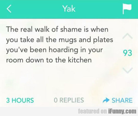 The Real Walk Of Shame