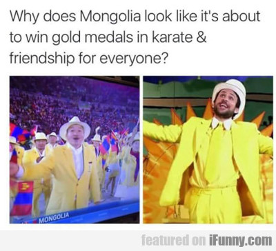 Why Does Mongolia...