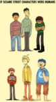 If Sesame Street Characters Were Humans