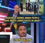 Research Shows That Amish People Have...