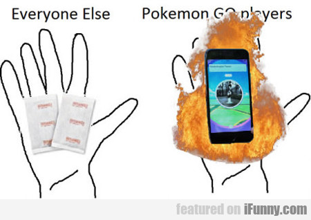 Everyone Else Vs Pokemon Go Players...
