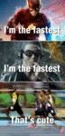 Fastest Man On Earth...