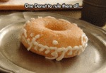 One Doughnut To Rule Them All...