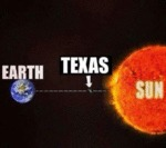 Earth, Texas, Sun...