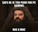 Says He's Too Poor For Pc Gaming...