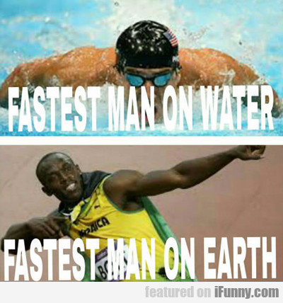 Fastest Man On Water...