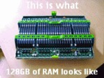 This Is What 128 Gb Of Ram Looks Like...