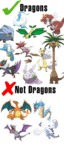 Dragon Types Vs Not Dragon Type...