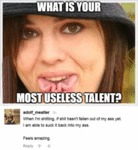 What Is Your Useless Talent?