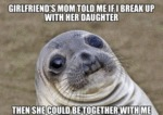 Girlfriend's Mom Told Me If I Break Up...