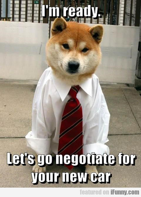 Let's Go Negotiate For Your New Car
