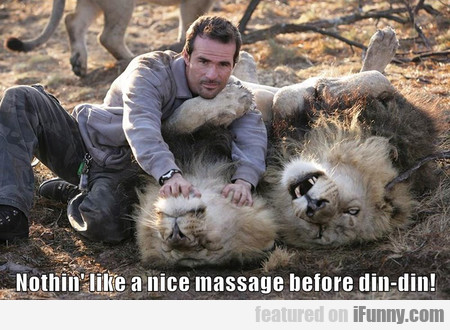 Nothing Like A Nice Massage
