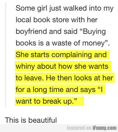 Buying Books Is A Waste Of Money