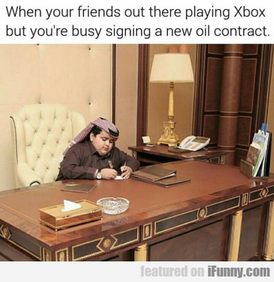 When Your Friends Are Playing Xbox...
