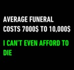 An Average Funeral Costs...