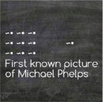 First Known Picture Of Michael Phelps...