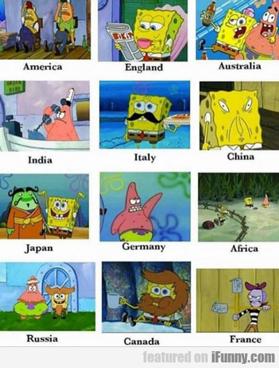 Spongebob Countries...
