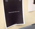 Please Do Not Waste The Toner...