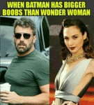 When Batman Has Bigger Boobs Than Wonder Woman...