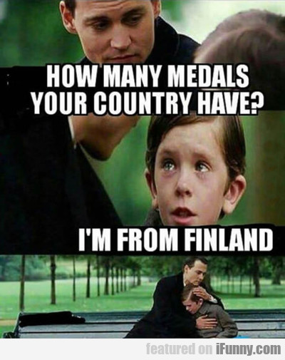 How Many Medals Did Your Country Win?
