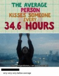 The Average Person Kisses Someone Every 34 Hours