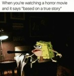 When You're Watching A Horror Movie...