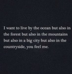 I Want To Live By The Ocean...