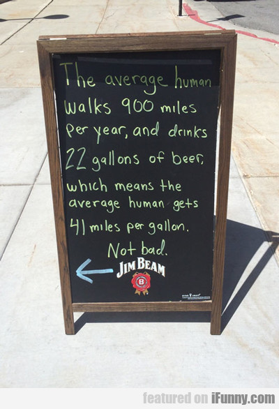 The Average Human Walks 900 Miles Every Year...