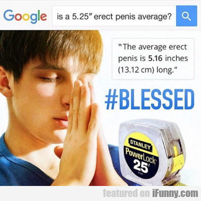#blessed...