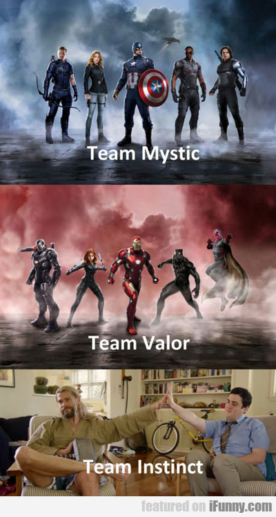 marvel's team mystic...