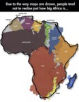 How Big Africa Is...