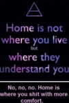 Home Is Not Where You Live...