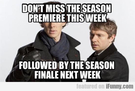 Don't Miss The Season Premiere This Week...
