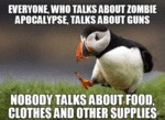Everyone Who Talks About Zombies...