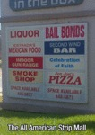 American Strip Mall..