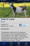 Trade For A Goat
