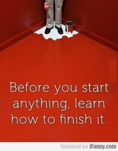 Before You Start...