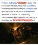 In Norse Mythology...