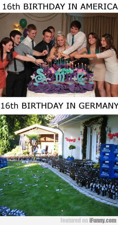 16th Birthday In America...