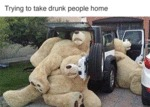Trying To Take Drunk People Home...