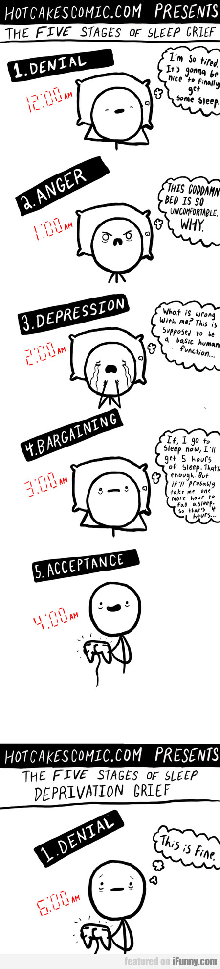 The Five Stages Of Sleep Grief