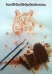Some Kid Drew This With Ice Cream...