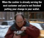 When The Cashier...