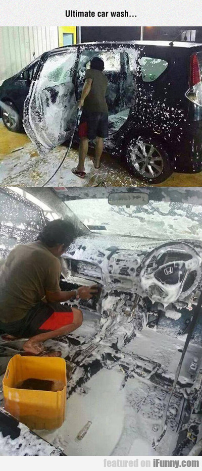 The Ultimate Car Wash...