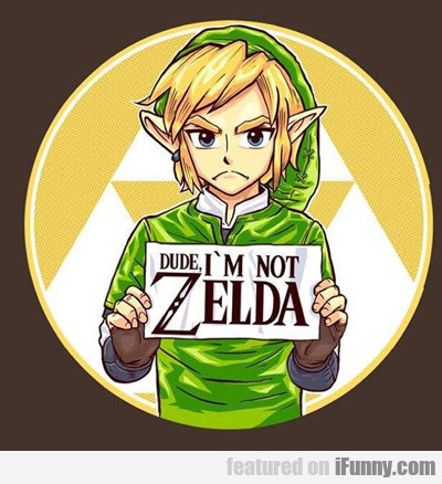 I Am Not Zelda...